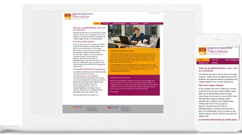 administratieve thuishulp steenwijkerland by Erjon webdesign