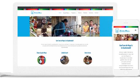 portfolio stichting ayuda maya door erjon
