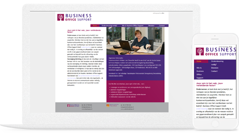 business office support door erjon webdesign steenwijk
