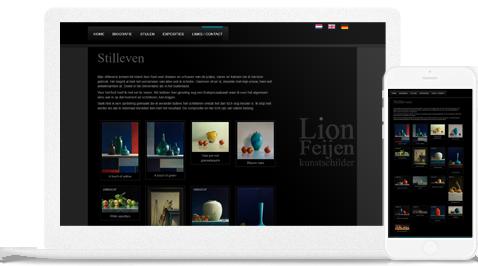 kunstenaar la feijen door erjon webdesign