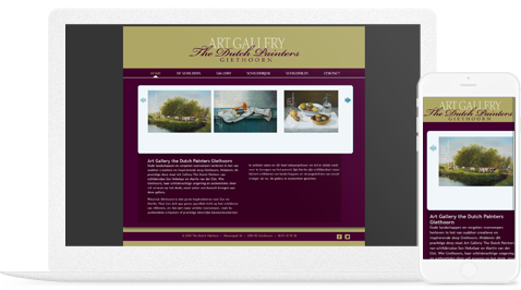 art gellery the dutch painters giethoorn door erjon webdesign